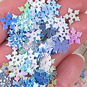 Mini Snowflake Sequin Mix*