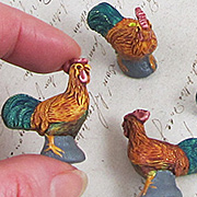 Ceramic Rooster Bead
