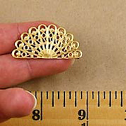 Rounded Fan Filigree