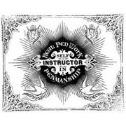 Self Instructor Rubber Stamp