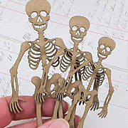 Skeleton Chipboard Set
