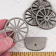 Spoked Wheel Set - 1-1/2 Inch