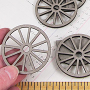 Spoked Wheel Set - 2 Inch