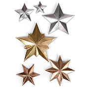 Dimensional Stars Thinlits Tim Holtz Die Set