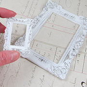 Shabby Chic Treasures Rectangular Resin Frame Set