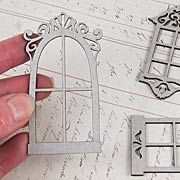 Petite Windows Die-Cut Chipboard*