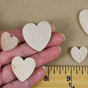 Wooden Hearts*