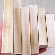 Maple Rubber Stamp Mounting Blocks**