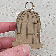 3 Inch Cage with Solid Back